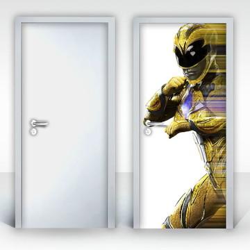 Adesivo para Porta – Power Rangers-02