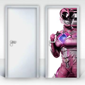 Adesivo para Porta – Power Rangers-04