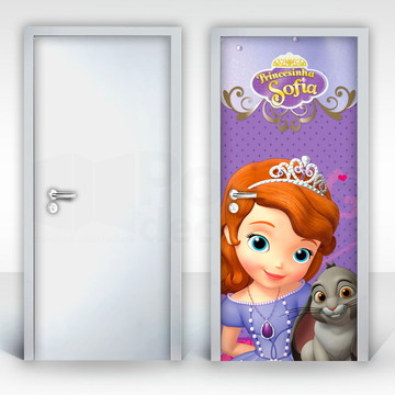 Adesivo para Porta – Princesa Sofia-03