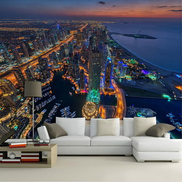 Papel de Parede para Sala 3D Dubai 0001