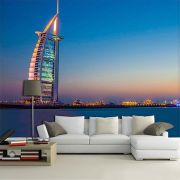 Papel de Parede para Sala 3D Dubai 0002