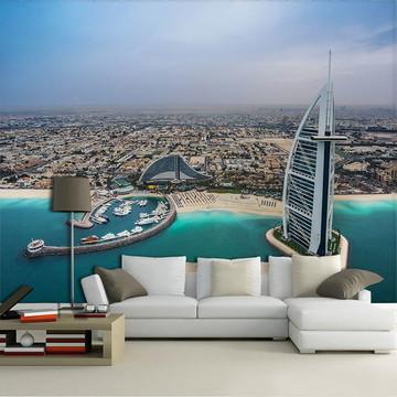 Papel de Parede para Sala 3D Dubai 0008