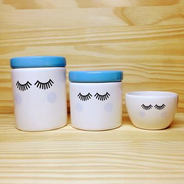 Kit Higiene Cílios / Olhinhos Azul