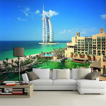 Papel de Parede para Sala 3D Dubai 0006