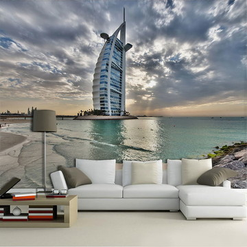 Papel de Parede para Sala 3D Dubai 0005