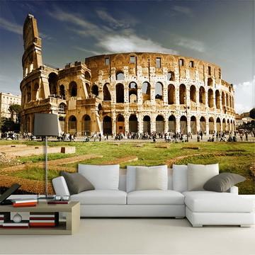 Papel de Parede para Sala 3D Itália 0008