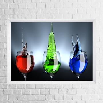 Quadro Drink (com moldura e vidro)