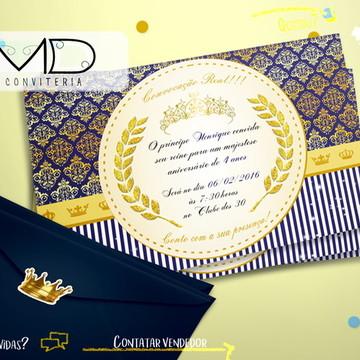 Convites Coroa Menino