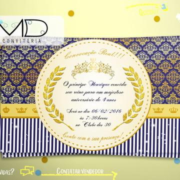 Convite Coroa Sem Envelope
