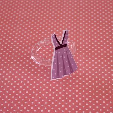 Porta-guardanapo - moda - vestido