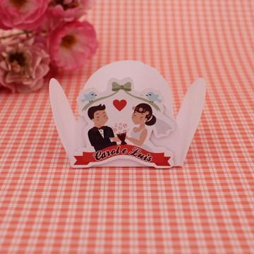 Forminha para doce com texto - casamento ou noivado