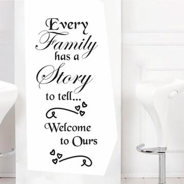 Adesivos de Parede Frases - Familia