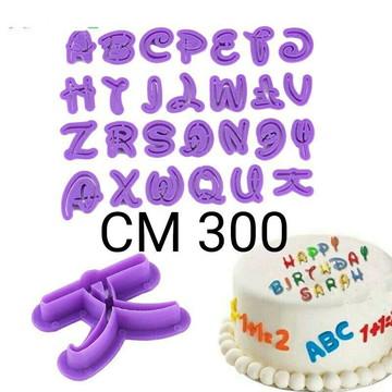 Kit de cortadores alfabeto Disney