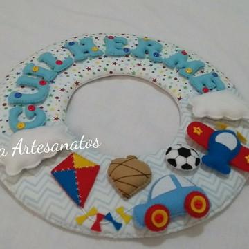Guirlanda Porta Maternidade Brinquedos