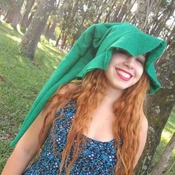 Chapéu de bruxo estilo Ventania Verde