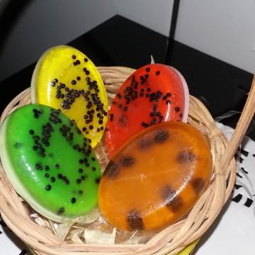 Cestinha com Mini Sabonetes Frutas