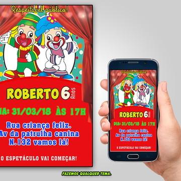 Convite Patati Patata - Digital
