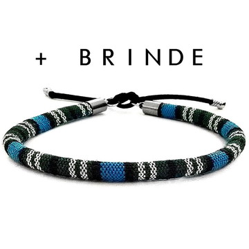 Bracelete Azul Masculino Feminino
