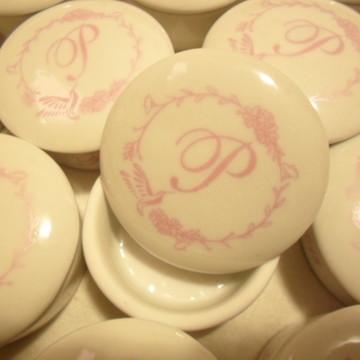 Porta Joia de Porcelana Personalizado Nascimento Maternidade
