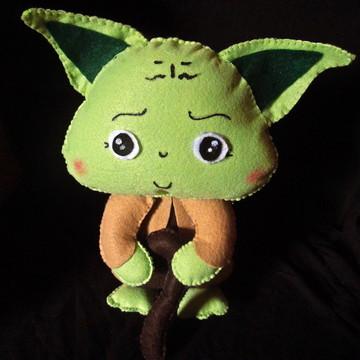 Mestre Yoda - Star Wars em Feltro