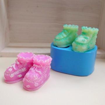 Lembrancinha Chá bebe sabonete Maternidade botinha sapatinho