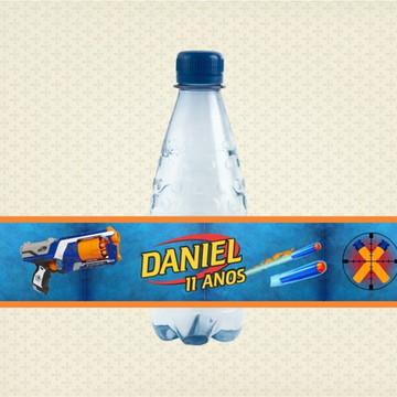 Rótulo para água Nerf
