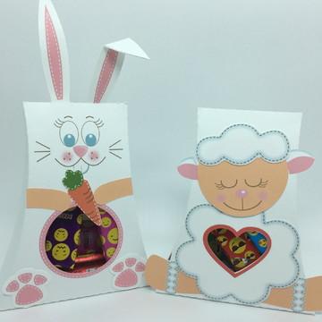 Sacolinha doces coelho ou ovelha