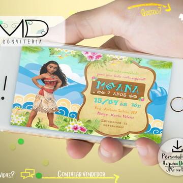Convite Digital Moana