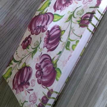 Caderno Costurado à mão tamanho A5