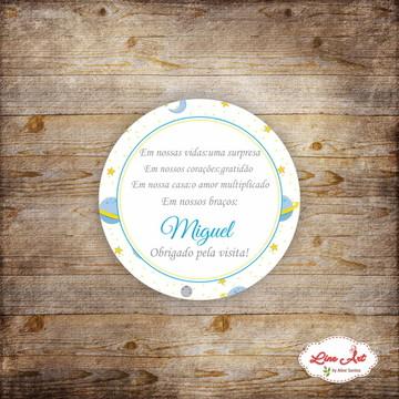 Tag Agradecimento Maternidade - Astronauta