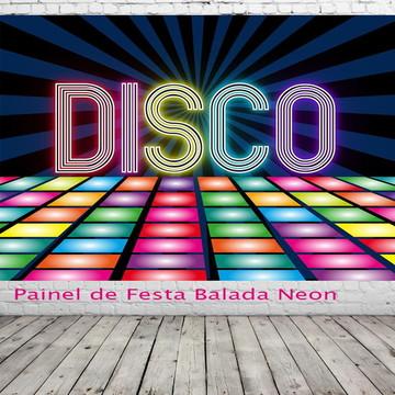 Painel de festa balada neon