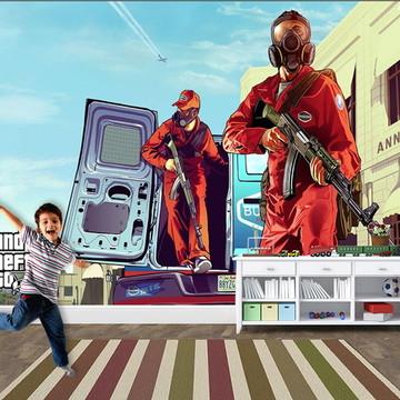 Papel de Parede para Quarto Games 0003