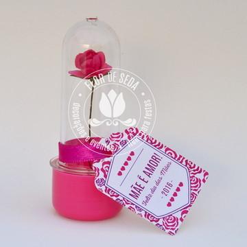 lembrança dia das mães com flor