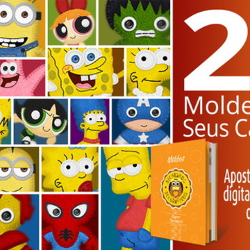Moldes para Cartoons - Super Cartoons