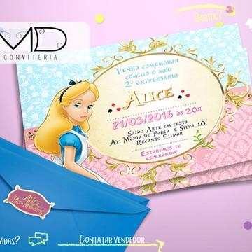 Convite Alice