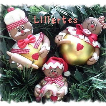 Bolinhas Natal_Família Gingerbread