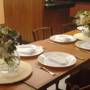 Centro de mesa buquê de Flores naturais