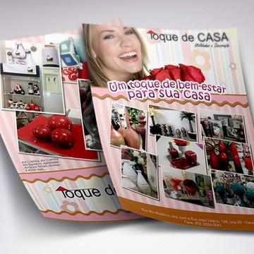 Panfleto para lojas 10X15 Frente 2500uni