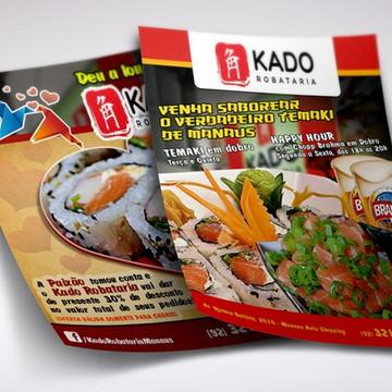 644b688a5 Panfleto para restaurante sushi 10X15 Frente 2500uni