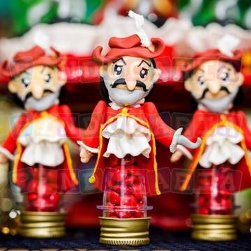 Mini tubetes Capitão Gancho
