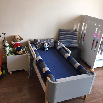 kit cama personalizado em tricô