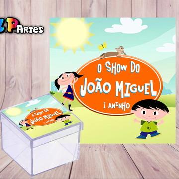 Adesivo caixa acrílico - O SHOW DA LUNA