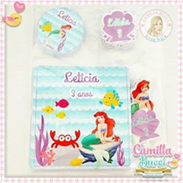 Kit Colorir Pequena Sereia Ariel