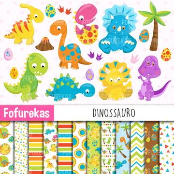 Kit Digital - Dinossauro