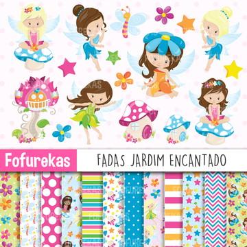 Kit Digital - Fadas Jardim Encantado 1