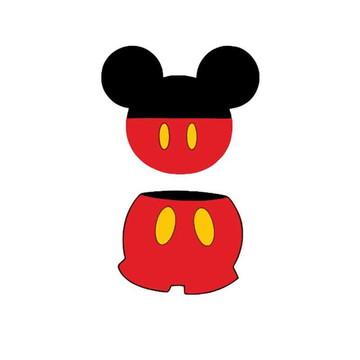 13.060.5 Aplique contornos Mickey