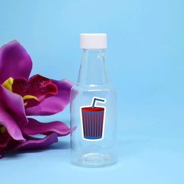 Garrafinha de plástico - cinem - Hollywood refrigerante