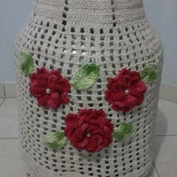 Capa de Botijão de Gás Crochê