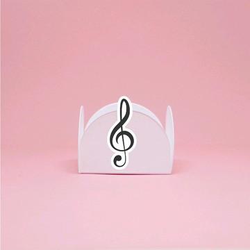 Forminha para doce - notas musicais clave de sol