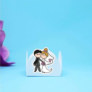 Forminha para doce - casamento - noivado - noivos